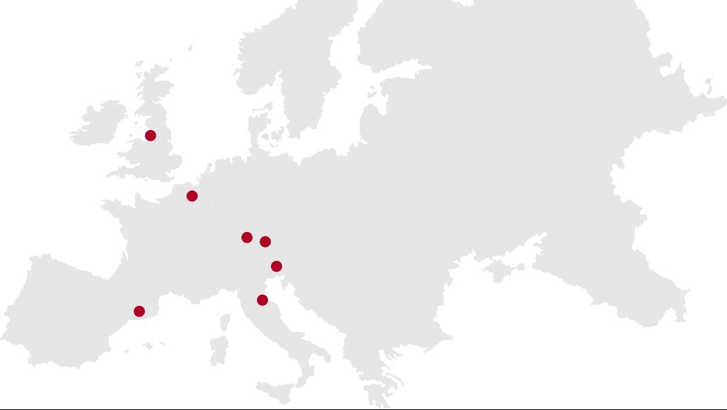 REPA Warehouses Map